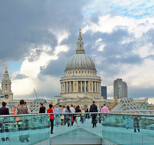 Touristic attractions of United Kingdom : St. Paul's Cathedral