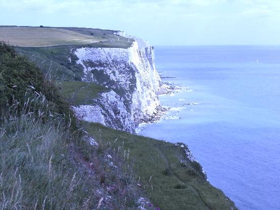 Touristic attractions of United Kingdom : The White Cliffs of Dover