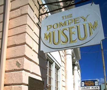 Touristic attractions of Bahamas : Pompey Museum, Nassau