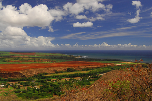 Touristic attractions of Hawaii : Hawaii - Kauai Island