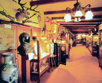 Touristic attractions of Hawaii : Kamuela Museum, Kamuela