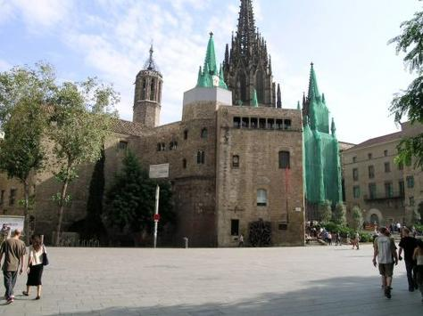 Touristic attractions of Mediterranean : Picasso Museum, Barcelona