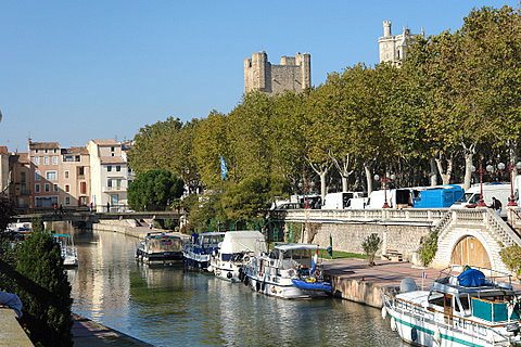 Touristic attractions of Mediterranean : Narbonne