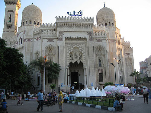 Touristic attractions of Egypt : Abu el-Abbas, Alexandria