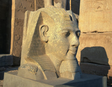 Touristic attractions of Egypt : Temple of Luxor, Luxor
