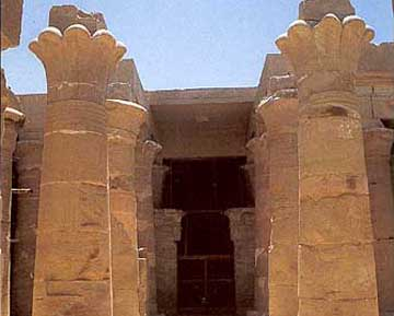 Touristic attractions of Egypt : Temple of Amasis, Siwa