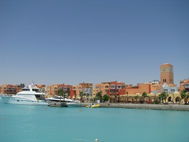 Touristic attractions of Egypt : St Antony's Monastery, Hurghada