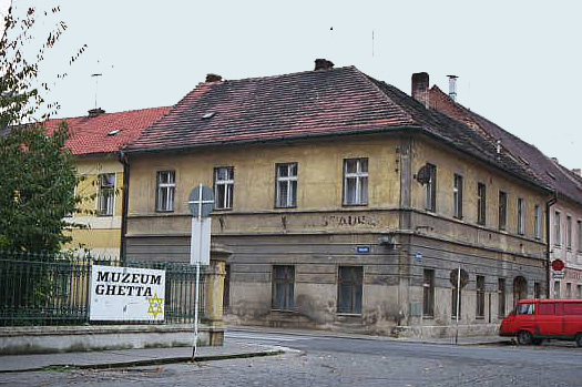 Touristic attractions of Czech Republic : The Terezin Ghetto Museum, Terezin