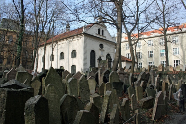 Touristic attractions of Czech Republic : Josefov / Jewish Quarter of Prague, Prague