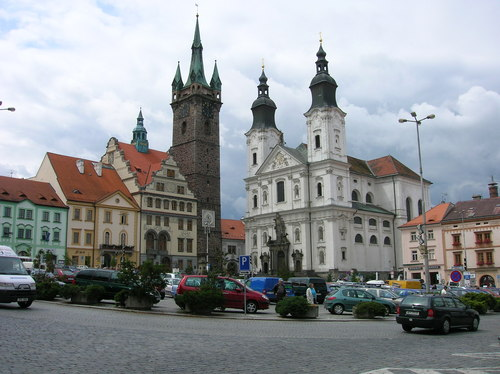 Touristic attractions of Czech Republic : Klatovy, Plzen