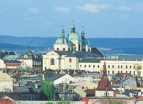 Touristic attractions of Czech Republic : Horni namesti, Olomouc