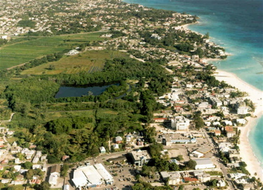 Touristic attractions of Barbados : Graeme Hall Nature Sanctuary