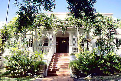 Touristic attractions of Barbados : Sunbury Plantation