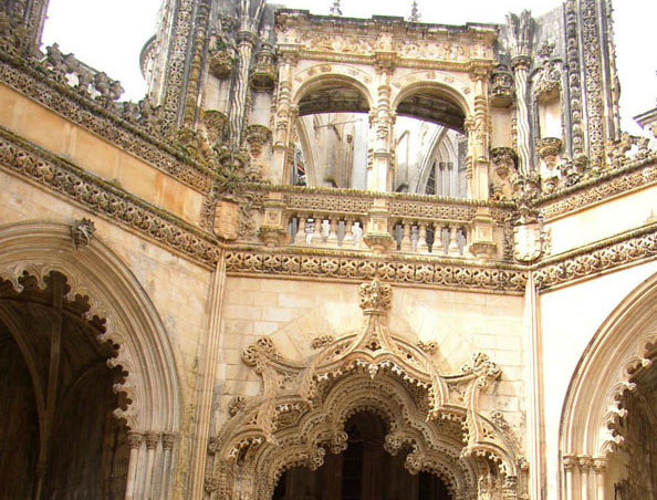 Touristic attractions of Portugal : Batalha