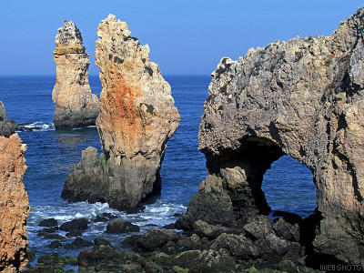 Touristic attractions of Portugal : Algarve