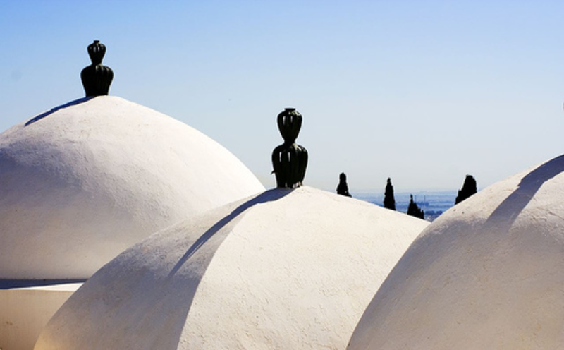 Touristic attractions of Tunisia : Mausoleum Sidi Bou Said