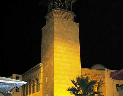 Touristic attractions of Tunisia : Medina, Hammamet