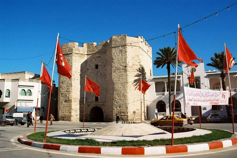 Touristic attractions of Tunisia : Skifa Mahdia