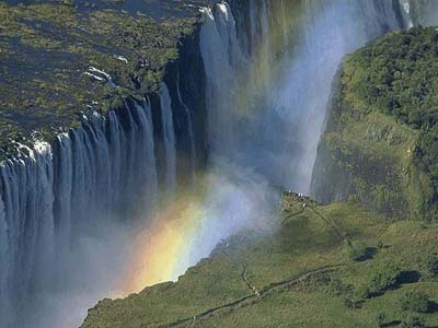 Touristic attractions of Africa : Victoria Falls