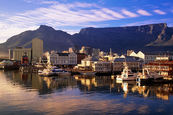 Touristic attractions of Africa : Cape Town, South Africa