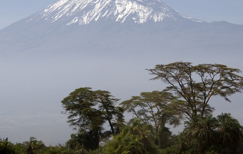Touristic attractions of Africa : Mt. Kilimanjaro