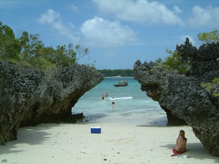 Touristic attractions of Africa : Zanzibar