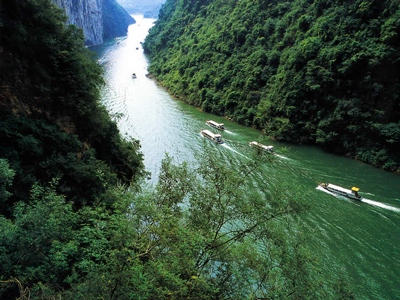 Touristic attractions of China : Yangtze River