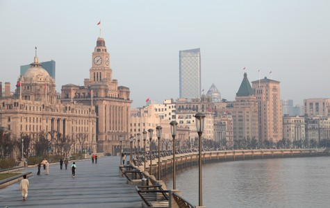 Touristic attractions of China : The Bund