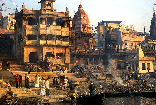 Touristic attractions of India : Dashaswamegha ghat, Varanasi