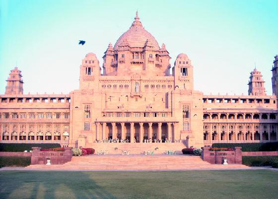 Touristic attractions of India : Jodhpur palace