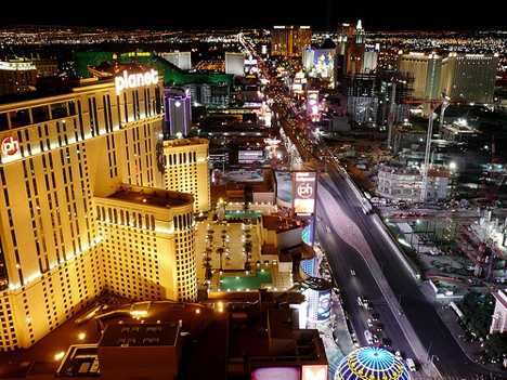 Touristic attractions of Las Vegas : Strip, Las Vegas