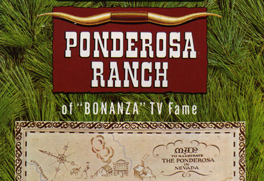 Touristic attractions of Las Vegas : Ponderosa Ranch