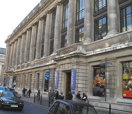 Touristic attractions of London UK : The Science Museum