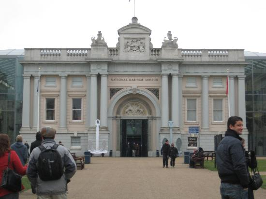 Touristic attractions of London UK : maritime museum