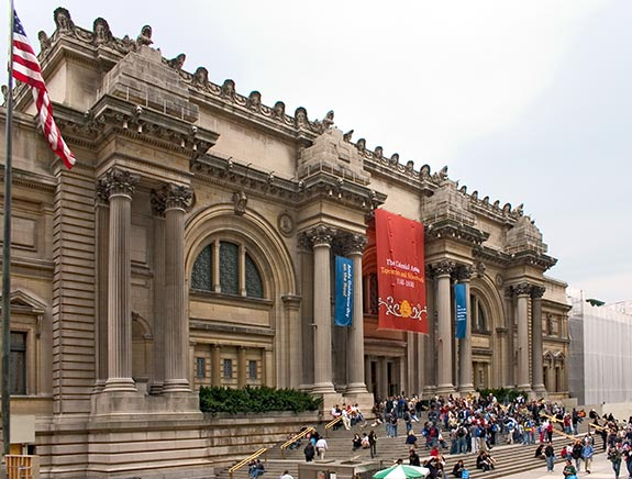 Touristic attractions of New York : The Metropolitan Museum