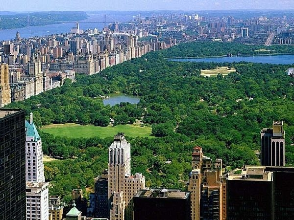 Touristic attractions of New York : The Central Park