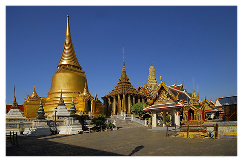 Touristic attractions of Thailand : Grand Palace, Bangkok