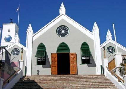 Touristic attractions of Bermuda : St. Peter's Church
