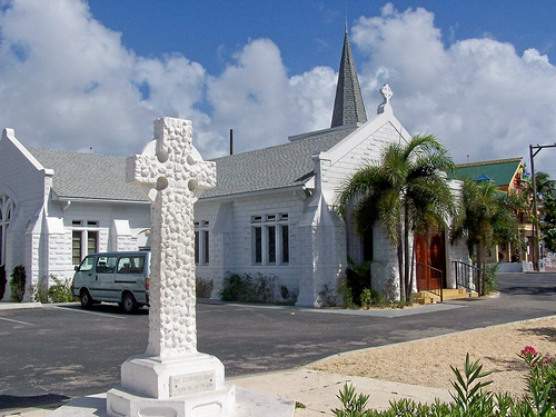 Touristic attractions of Cayman Islands : Elmslie Memorial Church, George Town