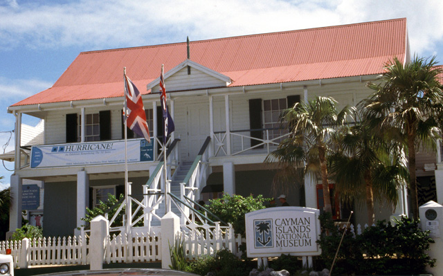 Touristic attractions of Cayman Islands : National Museum (George Town)