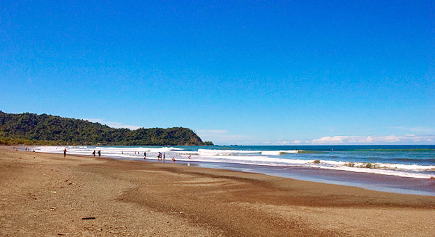 Touristic attractions of Costa Rica : Jaco & Playa Hermosa