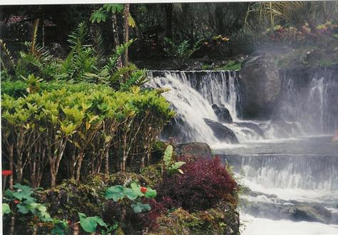 Touristic attractions of Costa Rica : Arenal Volcano & Hot Springs
