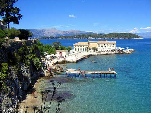 Touristic attractions of Greece : Corfu