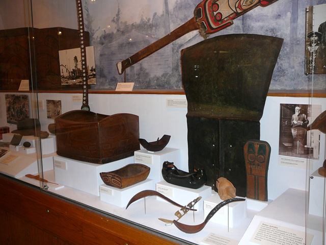 Touristic attractions of Alaska : Tongass Historical Museum, Ketchikan